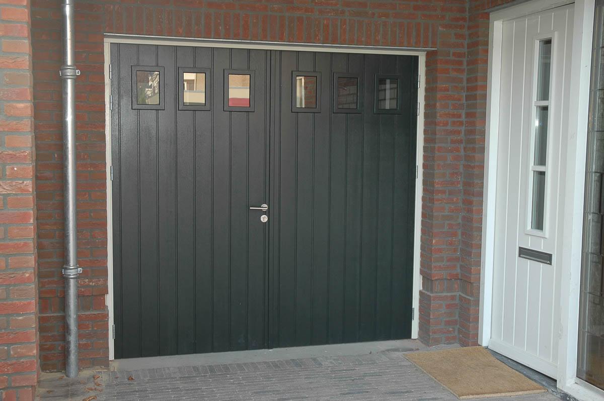 Dubbele (garage) deur