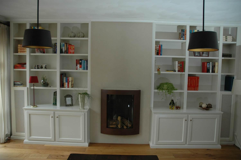 Kasten meubelmakerij aarts - Eigentijdse boekenkast ...