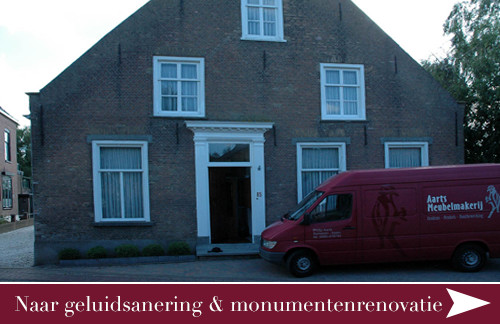 geluidsanering & monumentenrenovatie